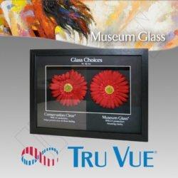 VIDRIO ANTIRREFLEJO TRU VUE MUSEUM 99% UV