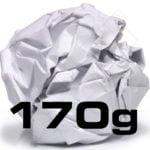 PAPEL MATE, 170 g
