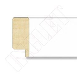 METRO MOLDURA BLANCO MATE, 30 x 13 mm
