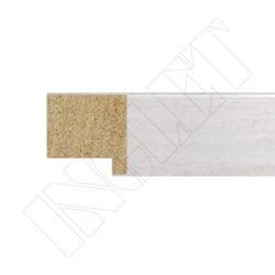 METRO MOLDURA ROBLE BLANCO, 20 x 20 mm