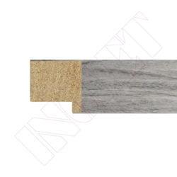 METRO MOLDURA ROBLE GRIS, 20 x 20 mm