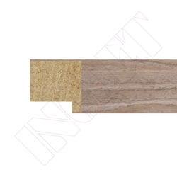 METRO MOLDURA ROBLE OSCURO, 20 x 20 mm
