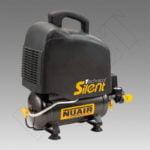 COMPRESOR SILENCIOSO NUAIR, 1 HP -6 litros-