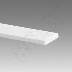 ROLO TIRA PVC BRANCO PARA TÊXTEIS, 12 x 4 mm -200 m-