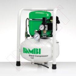 COMPRESOR SILENCIOSO BAMBI, 0.5 HP -9 litros-