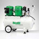 COMPRESOR SILENCIOSO BAMBI, 1 HP -24 litros-