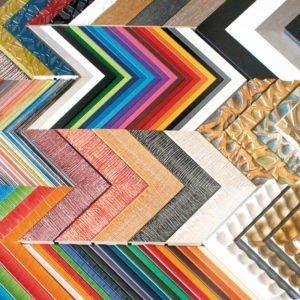 Moldura de Madera Colección Colores
